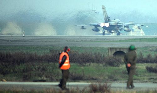 Caccia francesi al decollo