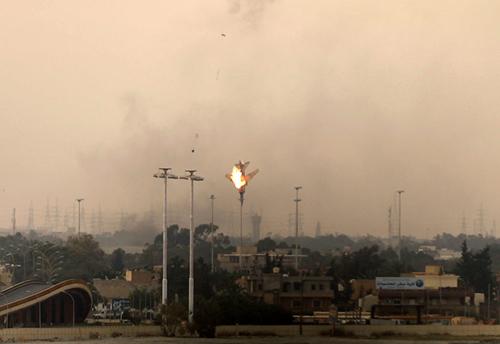 Il jet dei ribelli libici abbattuto