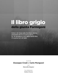 Copertina de 'Il libro grigio della giunta Formigoni'