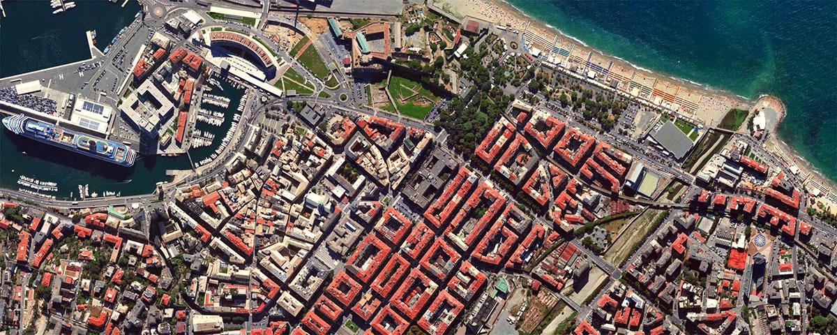 Savona vista dallo spazio