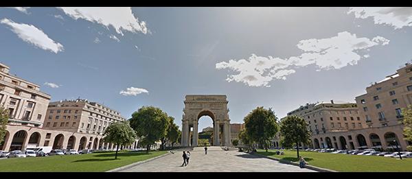Arco della Vittoria, Genova