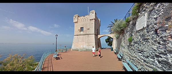 La passeggiata di Nervi, Genova