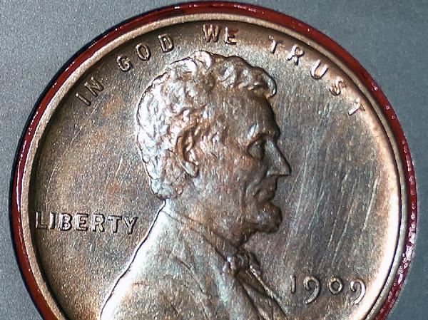 Il penny di Lincoln sul rover Curiosity