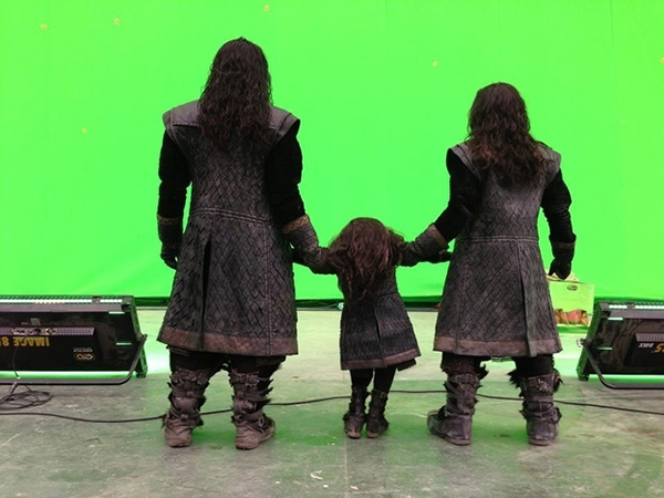 L'ultimo giorno di riprese sul sete de Lo Hobbit
