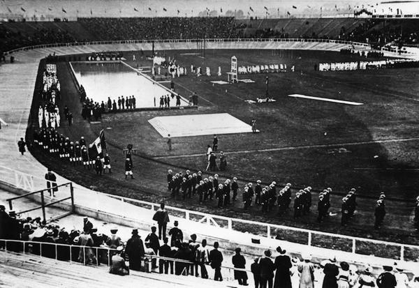 Cerimonia di apertura dei Giochi Olimpici di Londra 1908