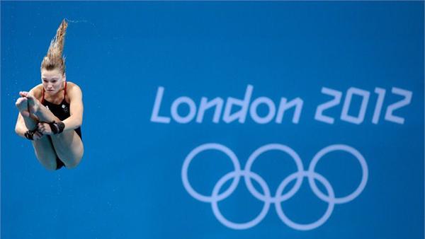 Alica Blagg ai Giochi Olimpici di Londra 2012