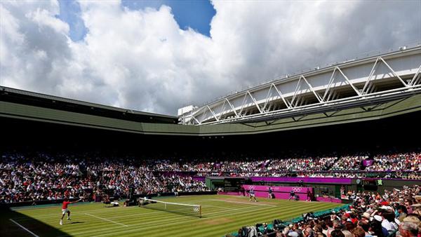Roger Federer ai Giochi Olimpici di Londra 2012