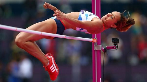 Jessica Ennis ai Giochi Olimpici di Londra 2012
