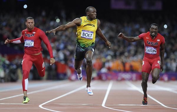 Usain Bolt a Londra 2012