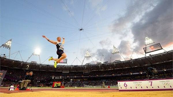 Greg Rutherford a Londra 2012