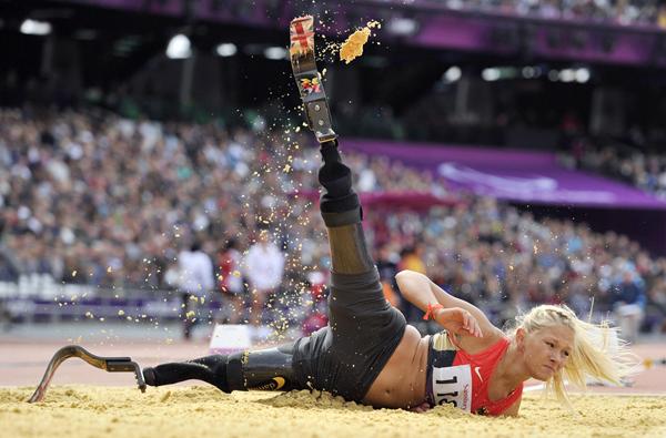 Vanessa Low ai Giochi Paralimpici di Londra 2012