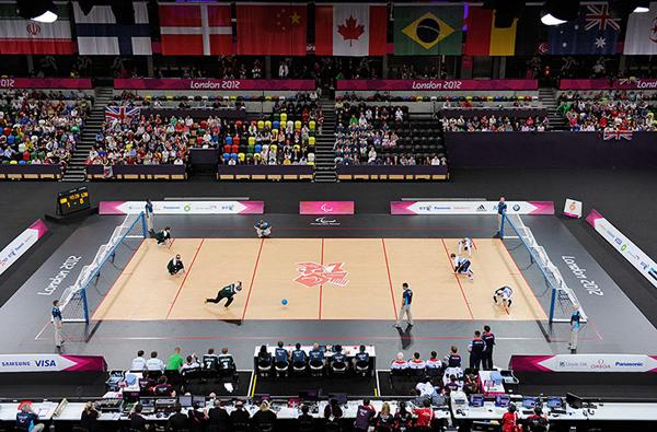 Il goalball ai Giochi Paralimpici di Londra 2012