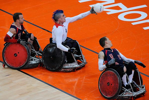 Il wheelchair rugby ai Giochi Paralimpici di Londra 2012