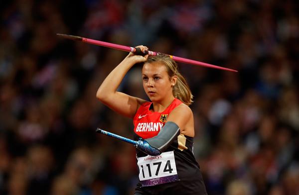 Laura Darimont ai Giochi Paralimpici di Londra 2012