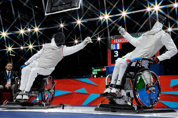 Marco Cima contro Laurent Francois ai Giochi Paralimpici di Londra 2012