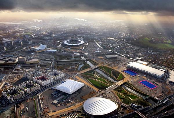 I siti olimpici di Londra 2012