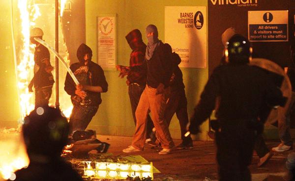 Le rivolte a Tottenham