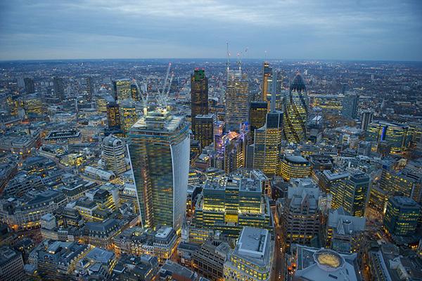 Lo skyline di Londra