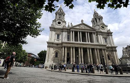 La cattedrale di St. Paul a Londra