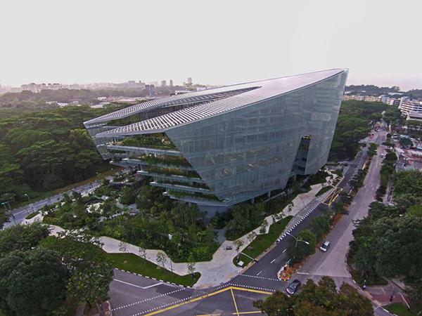 La nuova sede della LucasFilm a Singapore