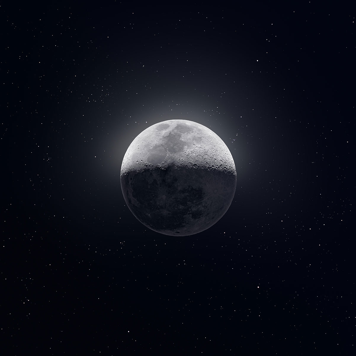La Luna fotografata da Andrew McCarthy