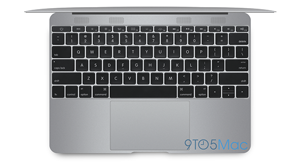 Il rendering del rumor del MacBook Air 2015