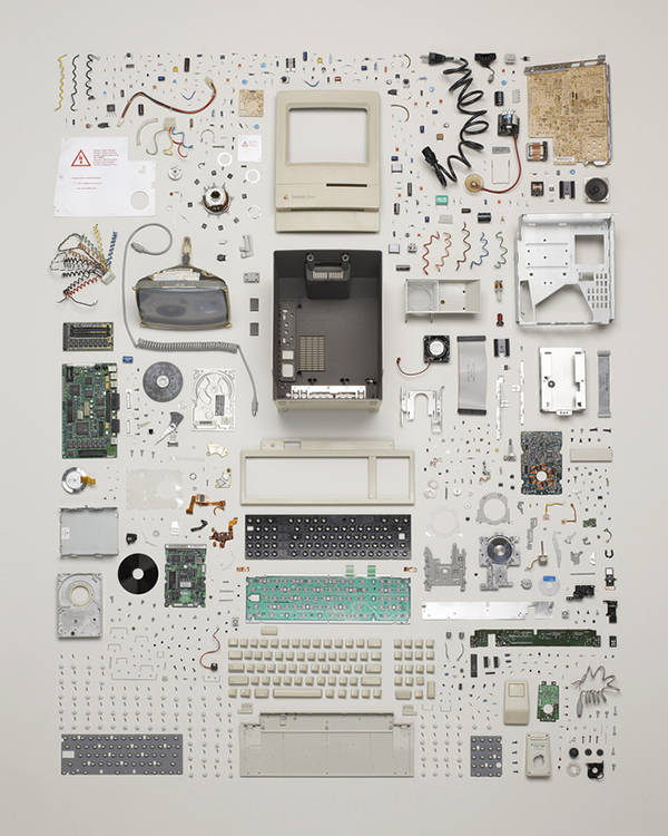Un Macintosh disassemblato