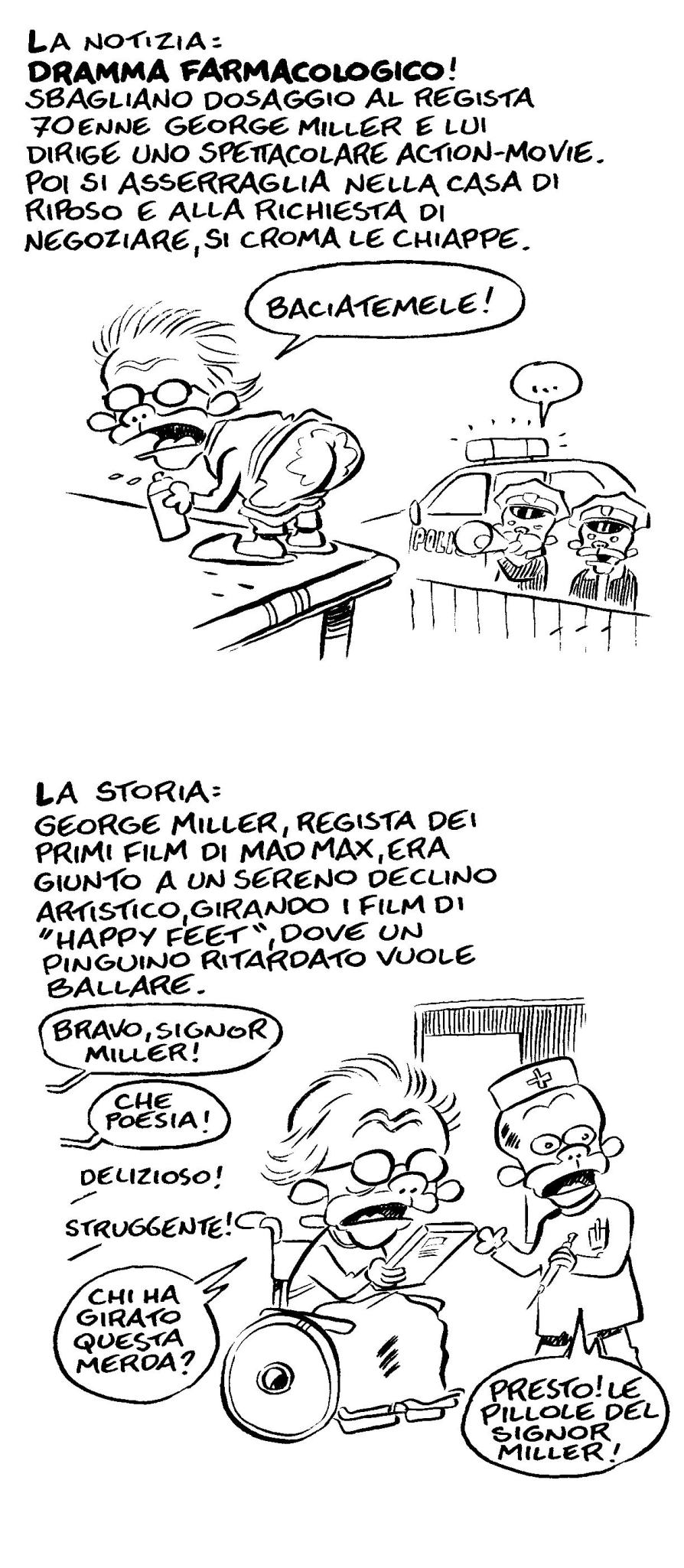 Mad Max: Fury Road di Leo Ortolani