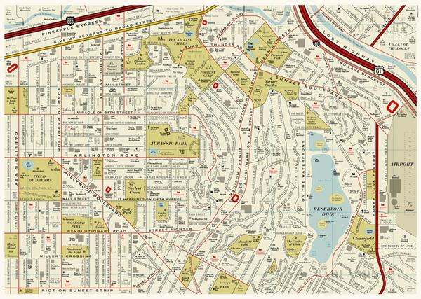 La mappa dei film