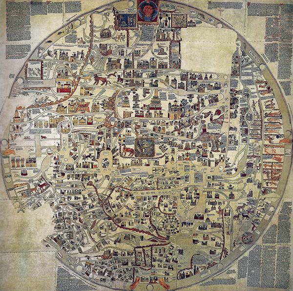 Mappa medievale del mondo
