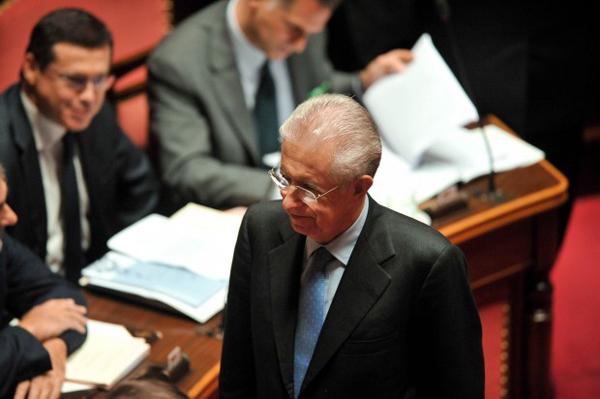 Mario Monti al Senato