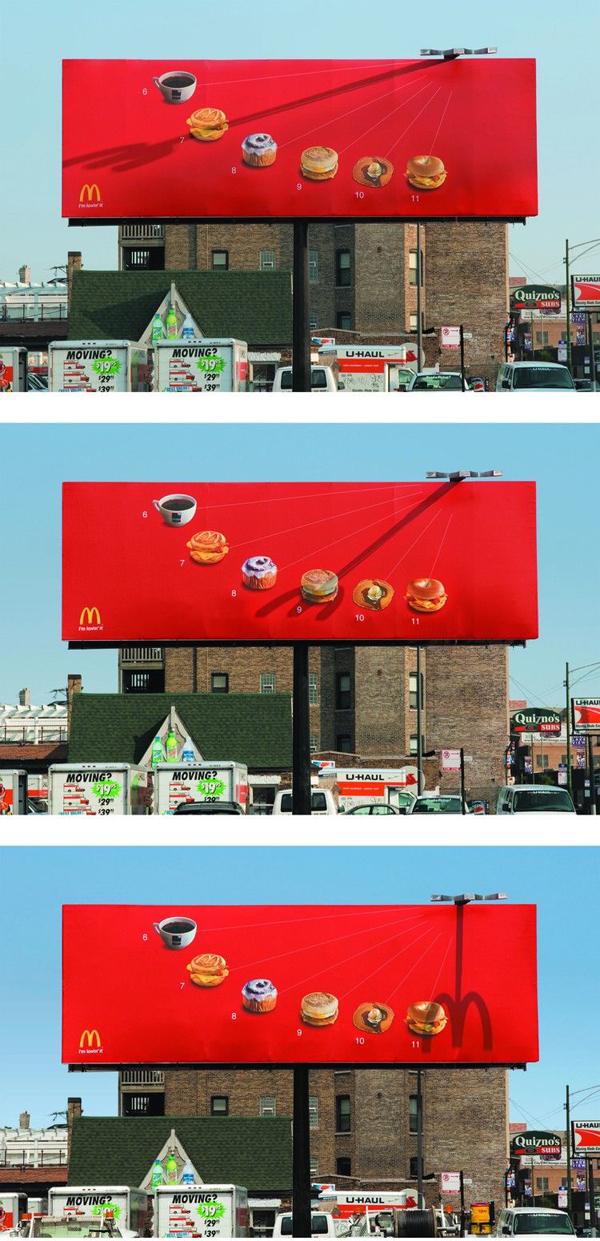 La meridiana di McDonald's