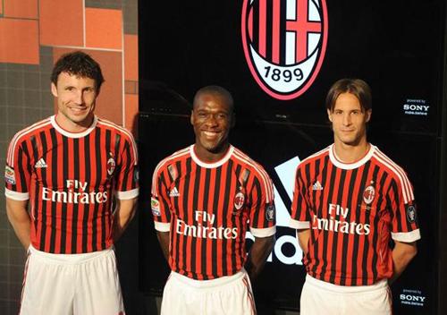 Le nuove maglie del Milan