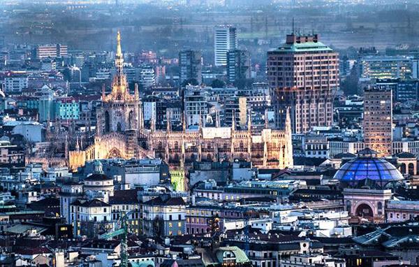 Milano dalla Torre Unicredit