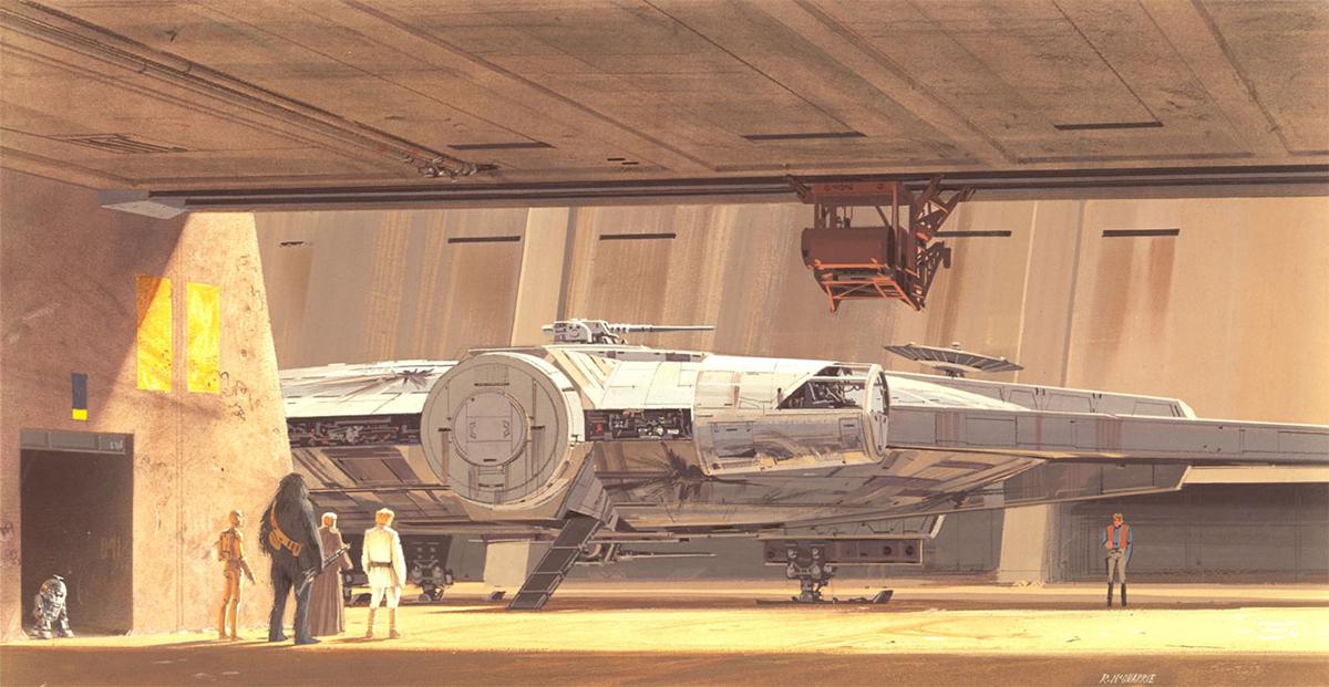 Il Millennium Falcon di Star Wars