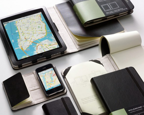 Le Moleskine per iPhone e iPad