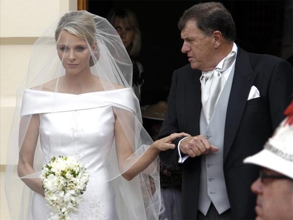 Charlene Wittstock e suo padre