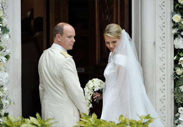 Alberto II e Charlene Wittstock
