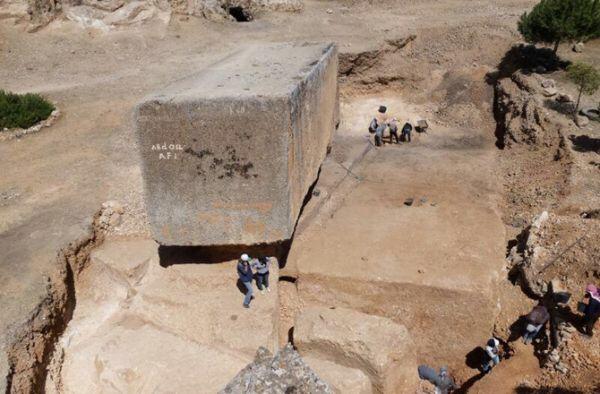 Il più grande blocco di pietra mai scavato a mano