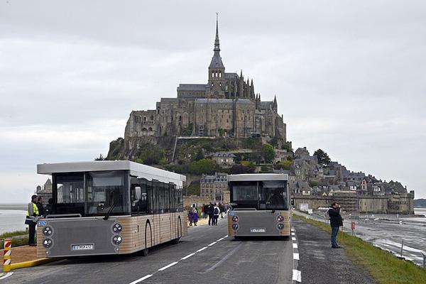 Le navette per Mont Saint-Michel