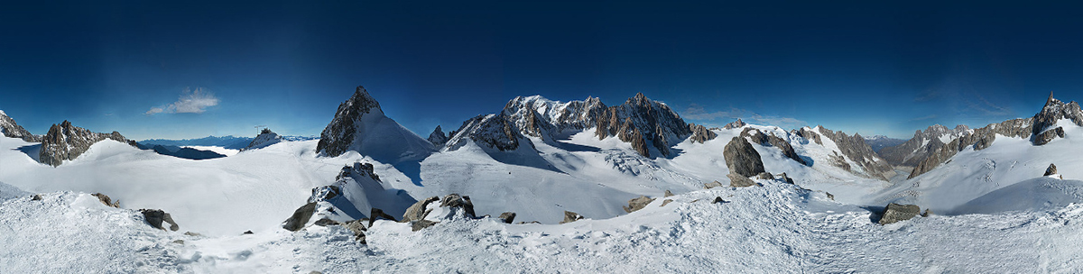 Panorama del Monte Bianco in 365 gigapixel