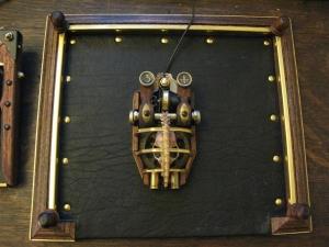 Un mouse in versione steampunk