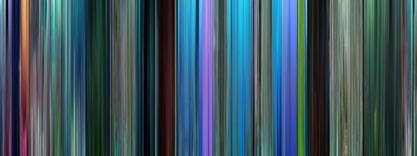 Il codice a barre colorato di Alla ricerca di Nemo