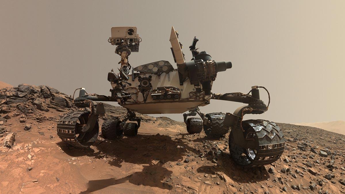 Il rover della NASA MSL Curiosity