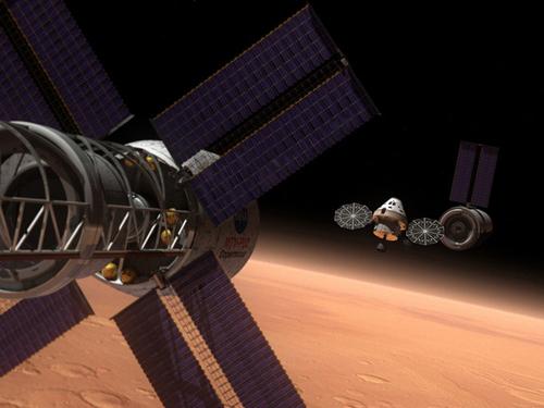 Rappresentazione artistica del Multi-Purpose Crew Vehicle della NASA