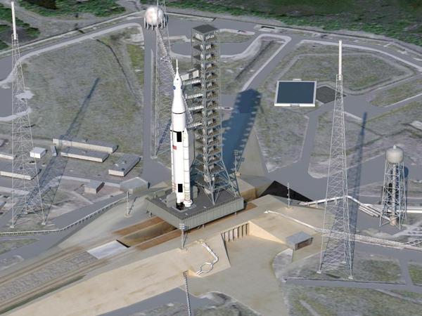 Il progetto del nuovo lanciatore SLS della NASA
