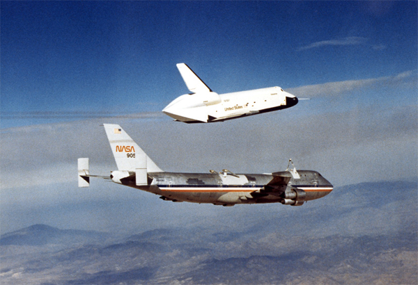 Il prototipo di Space Shuttle Enterprise