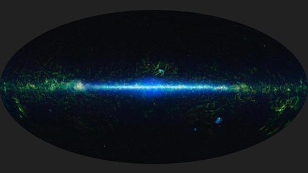La mappa dello spazio a infrarossi