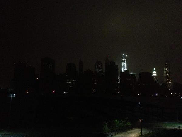 Il black out a Lower Manhattan