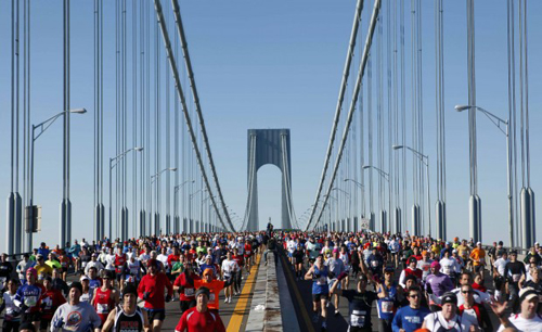 I maratoneti a New York